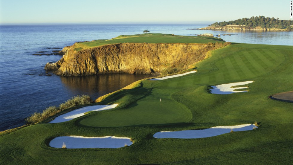 "Jack Nicklaus said: ""If I had only one more round to play, I would choose to play it at Pebble Beach. It's possibly the best in the world."" Green fees: $495."