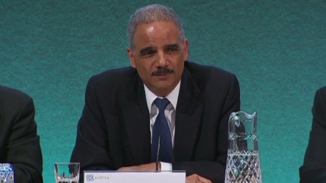 Holder: Leaks 'extremely damaging'
