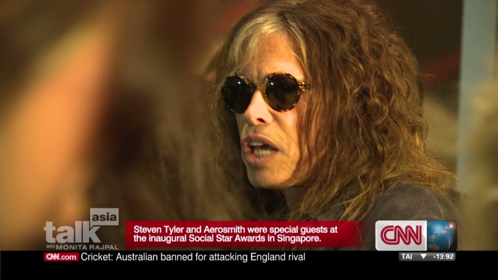Steven Tyler's family life on tour
