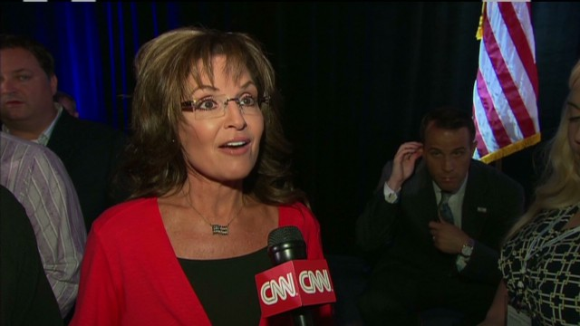 Palin on her political future