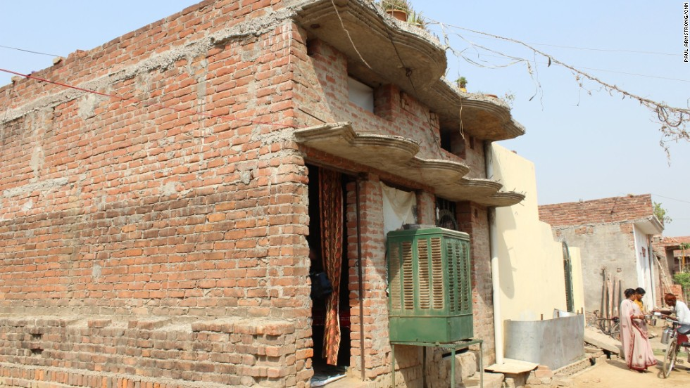 Her modest family home in the Madiyon district of Lucknow is where Usha Vishwakarma started the group -- despite opposition from her family.