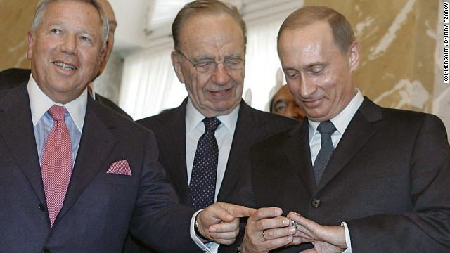 Putin: I did not steal Super Bowl ring