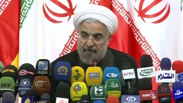 Iran's president-elect vows 'moderation'