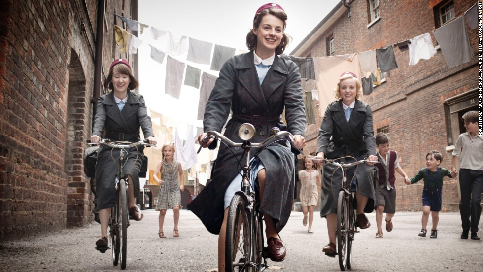 "The BBC series ""<a href=""http://www.pbs.org/call-the-midwife/home/"" target=""_blank"">Call the Midwife</a>"" follows the emotional highs and lows of midwifery in London's East End in 1960. Season 4 premieres on PBS March 29."
