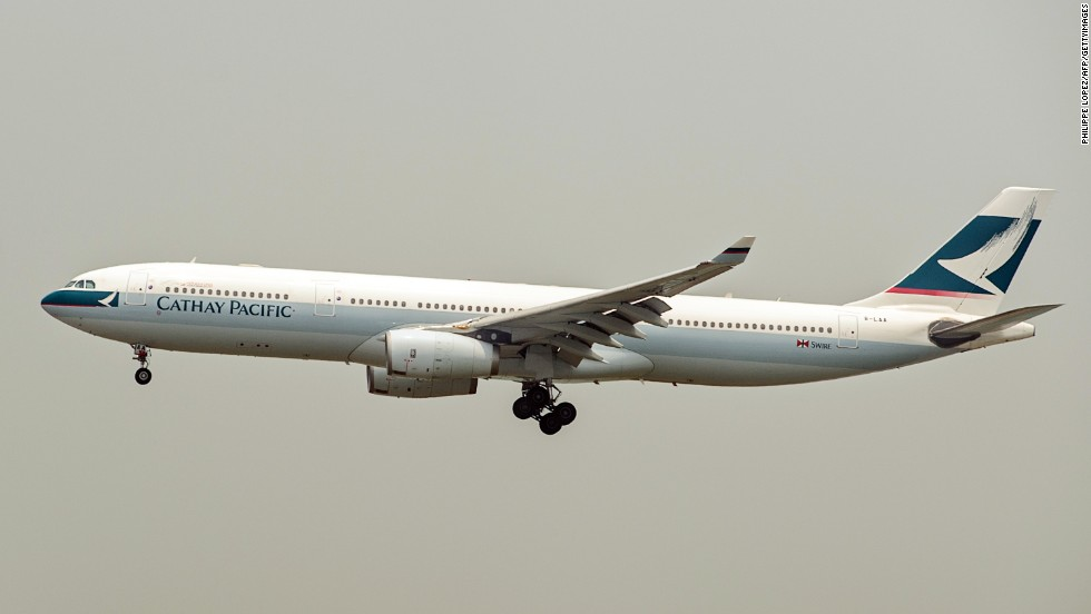 Cathay Pacific won the world's best cabin crew.