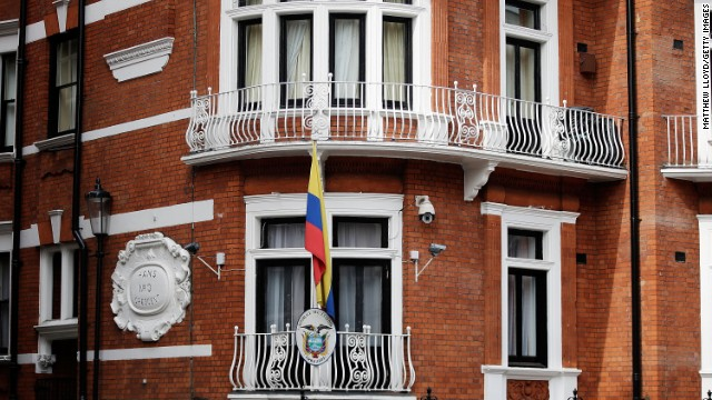 Ecuador says a hidden recording device was found inside its embassy in London.