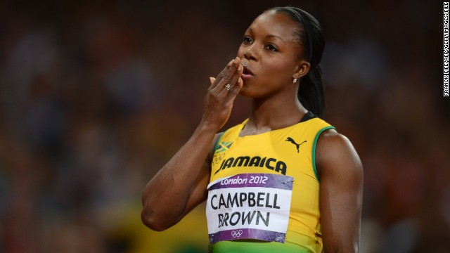 Jamaica's Veronica Campbell-Brown sprinted to Olympic bronze at the London 2012 Games.