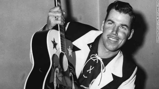 """Love Song of the Waterfall"" might have been Slim Whitman's breakthrough hit, but ""Indian Love Call"" brought him stardom, CMT says."