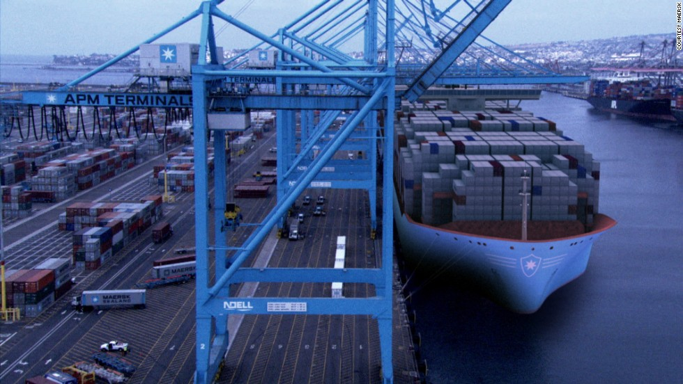 Maersk has 20 Triple E vessels on order at a cost of $190 million each. The first batch is set to be delivered in 2013.