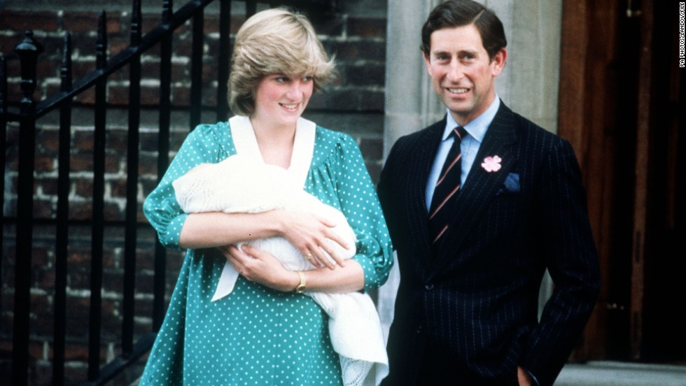 On June 21, 1982, almost 31 years ago, Prince William was born. Prince Charles and Princess Diana are shown leaving the Lindo Wing, at St. Mary's Hospital in London. Catherine, the Duchess of Cambridge, plans to give birth to her baby at the same hospital.