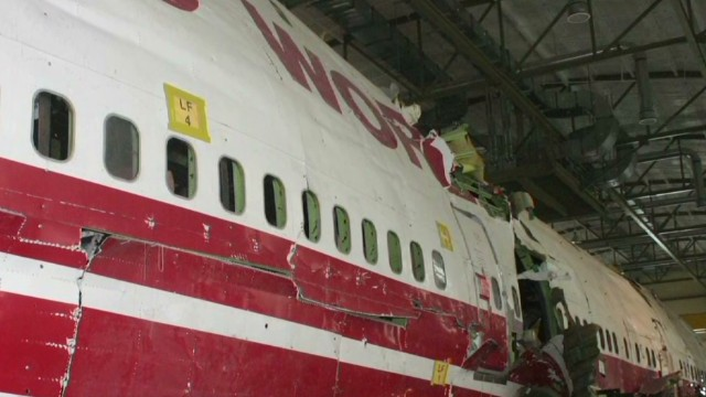 NTSB: Design flaw doomed TWA 800
