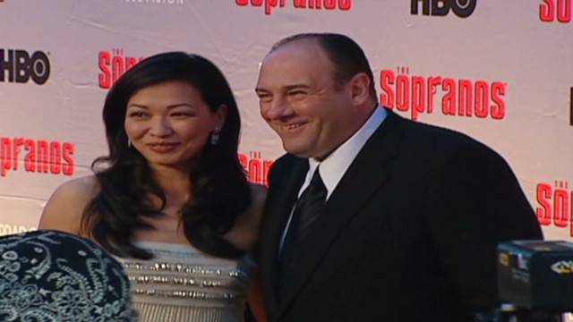 2007: James Gandolfini on the red carpet