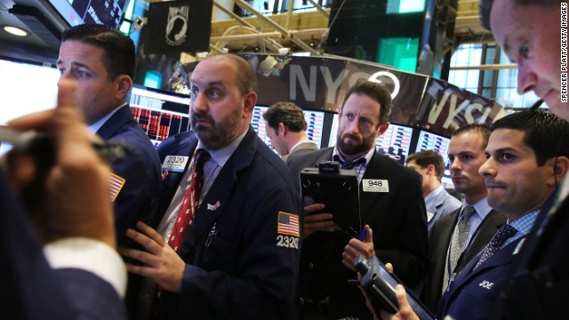Traders work on the floor of the New York Stock Exchange during the on June 20, 2013 in New York City.