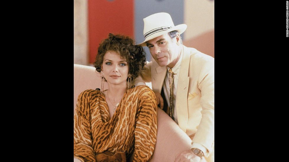 "In ""Married to the Mob"" (1988), Dean Stockwell plays a mob boss who courts Michelle Pfeiffer's character, who is trying to escape the Mafia life after her husband is killed."