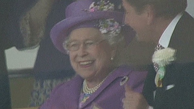 Queen joyous at Royal Ascot win