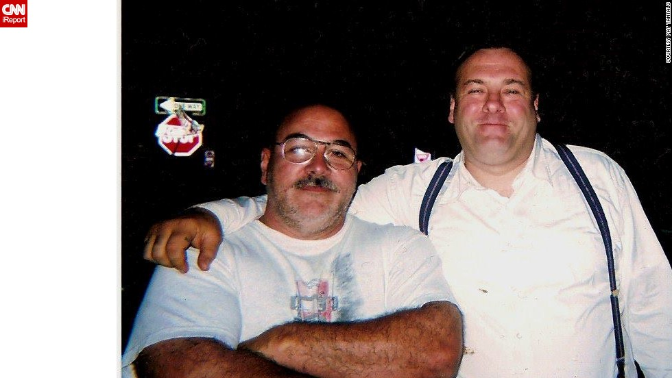 "When the news broke on Wednesday that ""The Sopranos"" star James Gandolfini died at 51, tributes poured in around the world, including CNN iReport. ""So long, paisan"" was how Orlando, Florida, resident <a href=""http://ireport.cnn.com/docs/DOC-991687"">Pat Tantalo</a> chose to say goodbye to the friend he met on the set of the 2006 film ""Lonely Hearts."" ""When Jimmy arrived, he was bigger than life. He shook everyone's hands and made sure he learned everyone's name. We were just finishing a production meeting and we introduced ourselves. We instantly connected. He planted his huge mitts on my shoulders and called me a little bull."""