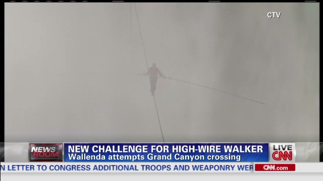 New challenge for high-wire walker