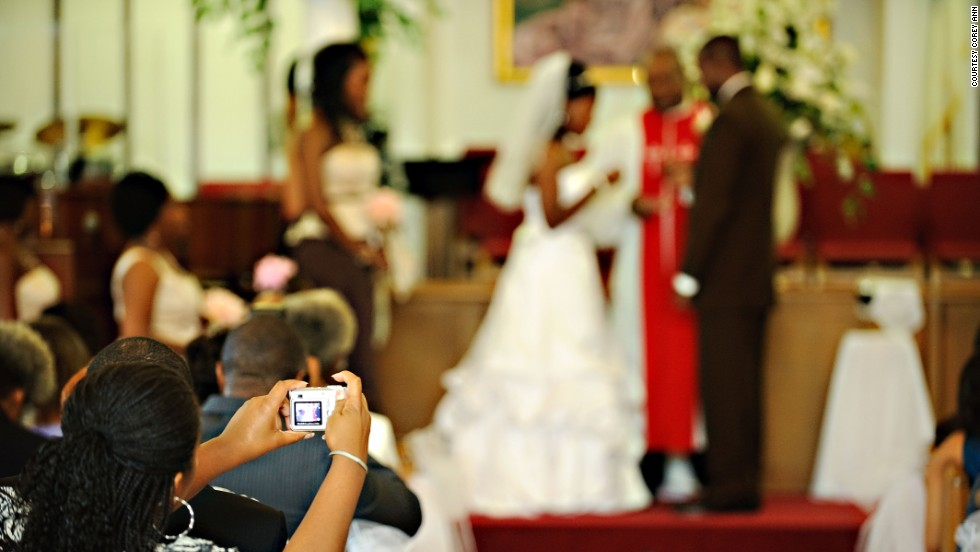 Some houses of worship have strict rules forbidding photographers from moving around during the ceremony, Balazowich said. In those cases, guests not only intrude upon the shot but distract the focal point.