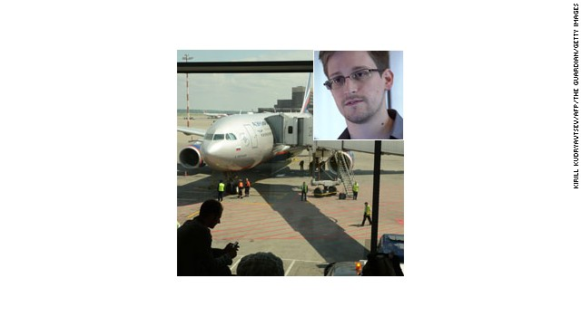 Where in the world is Edward Snowden?
