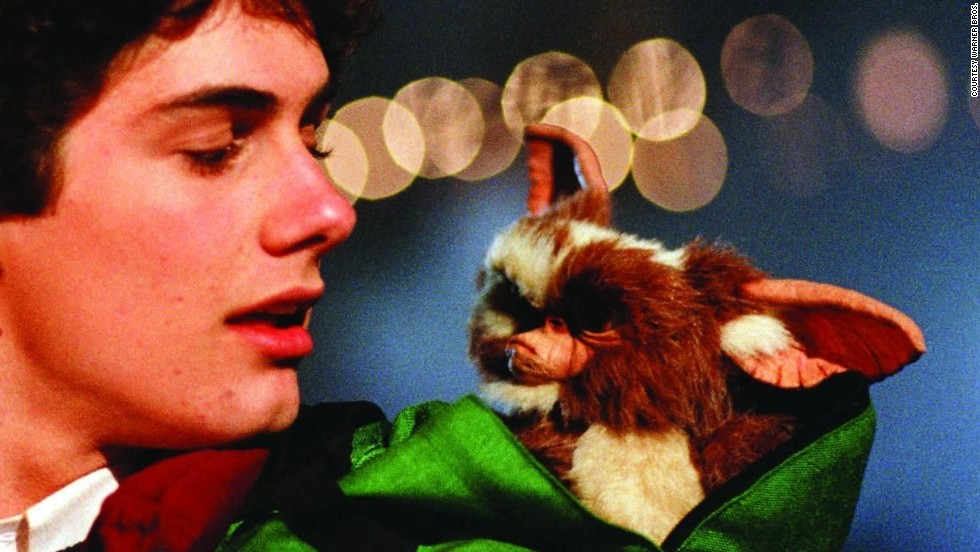 "Audiences loved ""Gremlins"" adorable mogwai <strong>Gizmo</strong> -- but the puppeteers did not. The tiny rubber puppet was prone to malfunctioning and so frustrated the crew that they added a scene in which the creature gets strapped to a dartboard and pelted with darts."