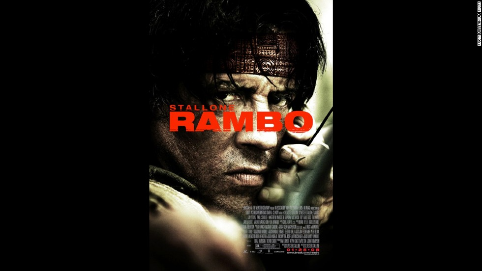 "Sure, there were earlier ""Rambo"" movies, but Sylvester Stallone was the quintessential killing machine in the 2008 version as he attempted to rescue aid workers in Myanmar."