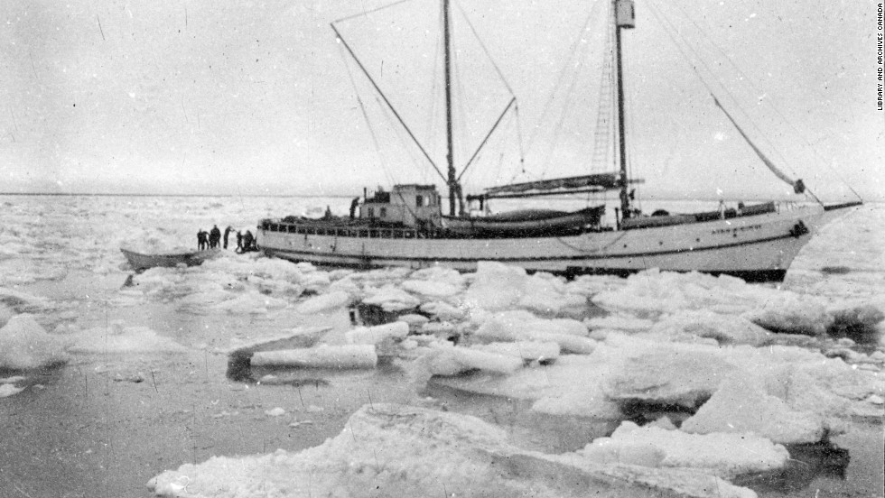 More than a year after the ship became trapped, Bartlett made it back to Alaska and organized several failed attempts to rescue the 12 men still clinging to life on the ice. Finally, the schooner King and Winge reached the stranded explorers. Overall, 11 of the original 31 Karluk expedition members had died.<br />