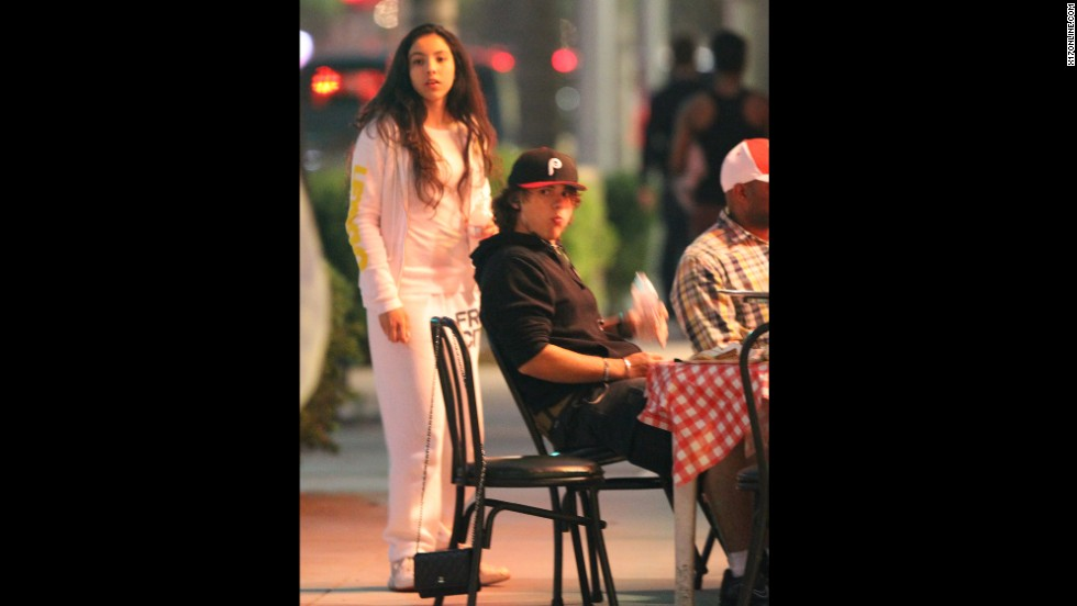 "Earlier this year, Prince <a href=""http://www.cnn.com/2013/02/26/showbiz/prince-jackson-acting"">kicked off an acting career </a>by appearing on the TV show ""90210."" Just as he was back in regular kid mode, out for pizza with girlfriend Remi Alfalah and her family in Los Angeles, Paris was taken to the hospital."
