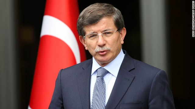 Turkish Foreign Minister Ahmet Davutoglu welcomed new membership talks with the E.U.