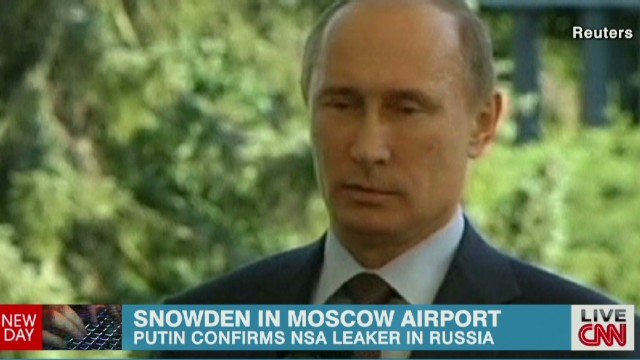 Russia's Putin: Snowden is free man