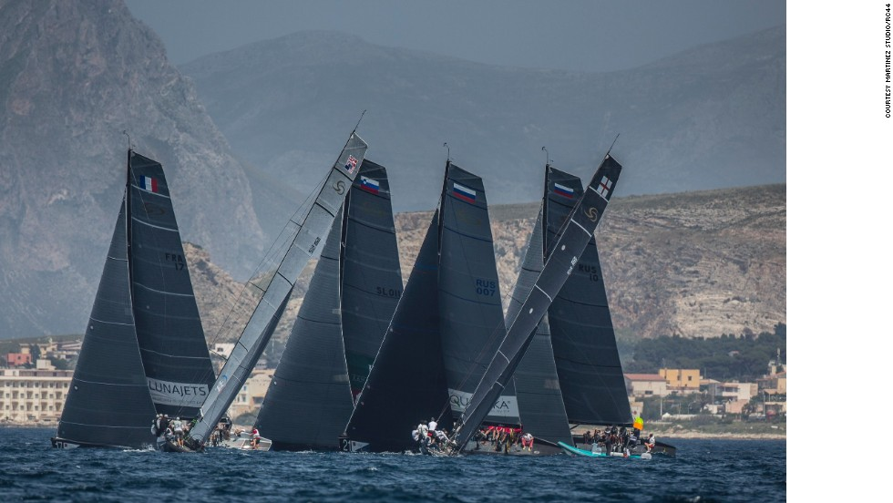The Trapani Cup is a new race on the RC44 Championship Tour - one of the most respected events on the international yacht racing circuit. <br />