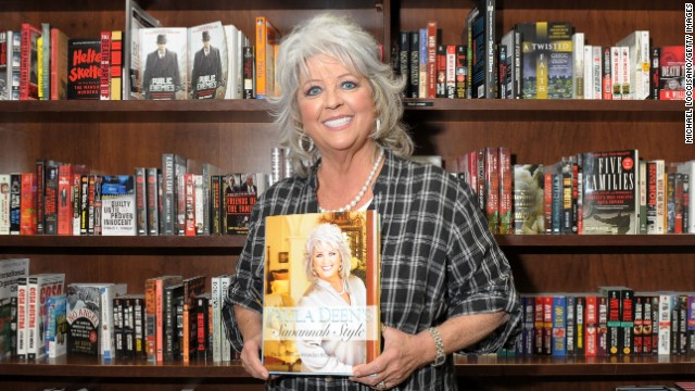 "NEW YORK - APRIL 07:  Cook and TV personality Paula Deen promotes her new design book ""Paula Deen's Savannah Style"" at Barnes & Noble Union Square on April 7, 2010 in New York City.  (Photo by Michael Loccisano/Getty Images)"