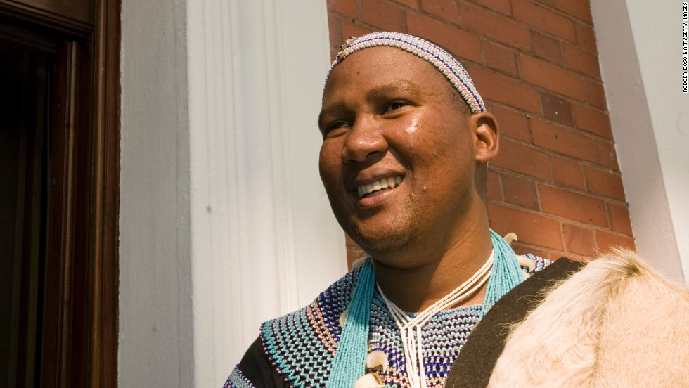 Makgatho Mandela's eldest son, Mandla Mandela, serves as the chief of Mvezo in the village where his grandfather was born.