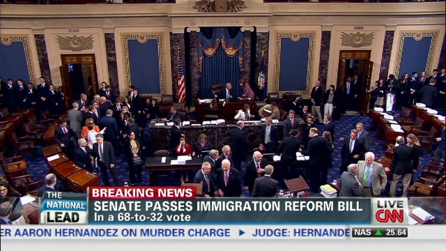 Senate passes immigration reform bill