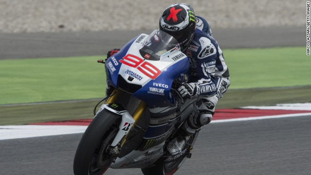 Jorge Lorenzo will miss this weekend's Dutch MotoGP after falling from his bike during Thursday's practice session.