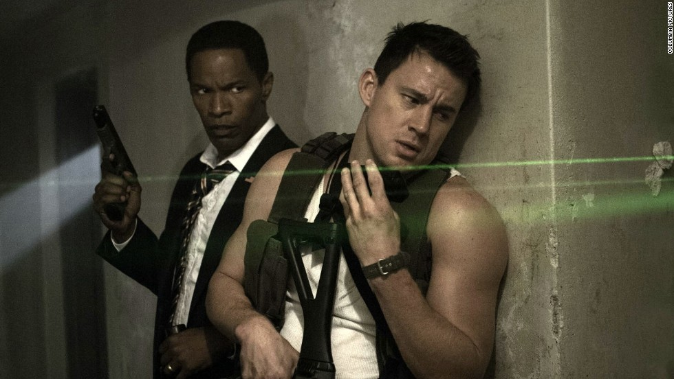 """White House Down"" had two big stars in Jamie Foxx and Channing Tatum, not to mention a $150 million budget, but only made $72 million domestically and $62 million overseas."