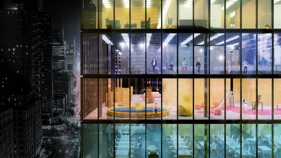 Copenhagen based architecture firm pink cloud is looking for New york based architecture firms