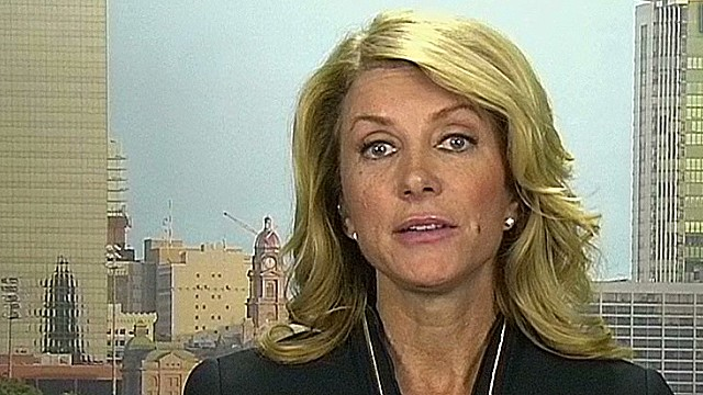 tsr sot wendy davis response gov perry comments_00015202.jpg
