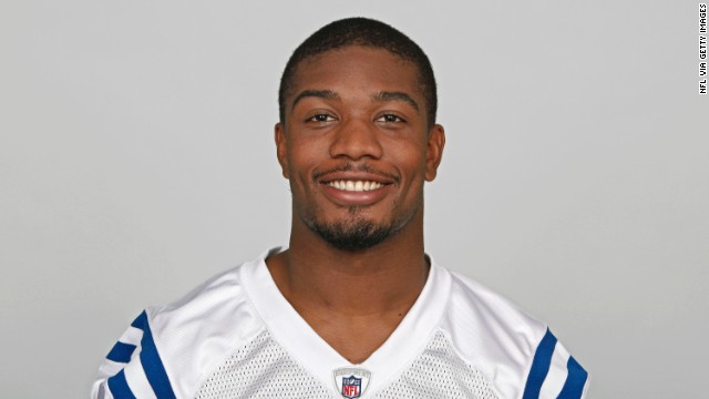 INDIANAPOLIS, IN - CIRCA 2011: In this handout image provided by the NFL, Joe Lefeged of the Indianapolis Colts poses for his NFL headshot circa 2011 in Indianapolis, Indiana. (Photo by NFL via Getty Images)