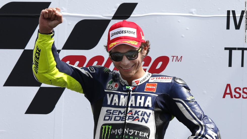Seven-time world champion Valentino Rossi was generally off the leading pace, but the Italian picked up one win -- at Assen -- on his return to Yamaha after two seasons at Ducati.