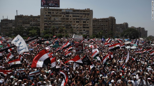 Anti-Morsy protests heat up in Egypt