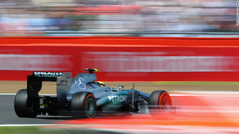 Hamilton recovered to finish fouth, but was unhappy about the tire problems drivers experienced at Silverstone.