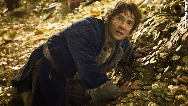 "Martin Freeman stars as Bilbo Baggins  in ""The Hobbit: The Desolation of Smaug."""