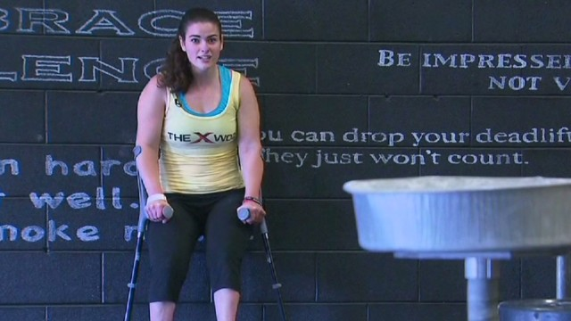 CrossFit instructor has cerebral palsy