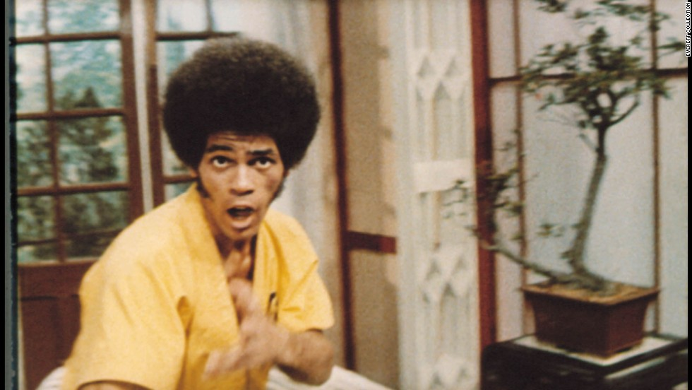 "Jim Kelly, seen here in his best known film <a href=""http://www.imdb.com/title/tt0070034/?ref_=fn_al_tt_1"" target=""_blank"">""Enter the Dragon,""</a> died of cancer June 29 at the age of 67."