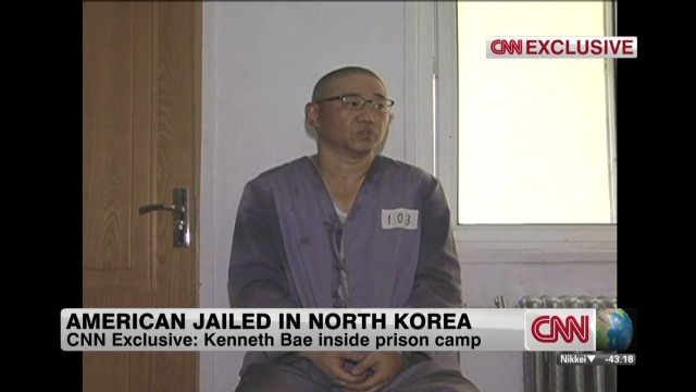 Video shows American jailed in N. Korea