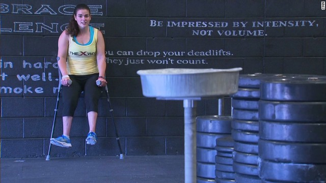 Adaptive athlete breaks CrossFit Barrier
