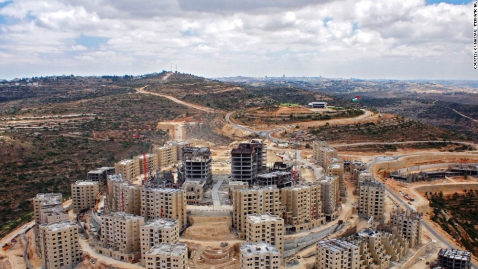 Regional instability could severely disrupt the project, but the developer says it would cause a delay in completion, not the end of Rawabi.