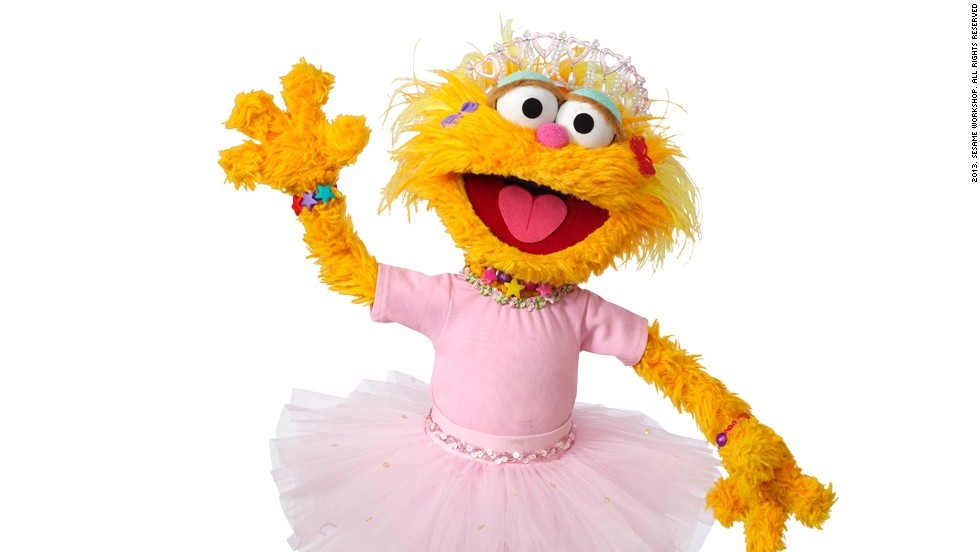 "<strong>Zoe</strong> broke into ""Sesame Street's"" largely male Muppet cast in 1994, becoming the show's stand-out female character. As she appears to be about the same age as Elmo, the two often spend time together. They are understood to be best friends."