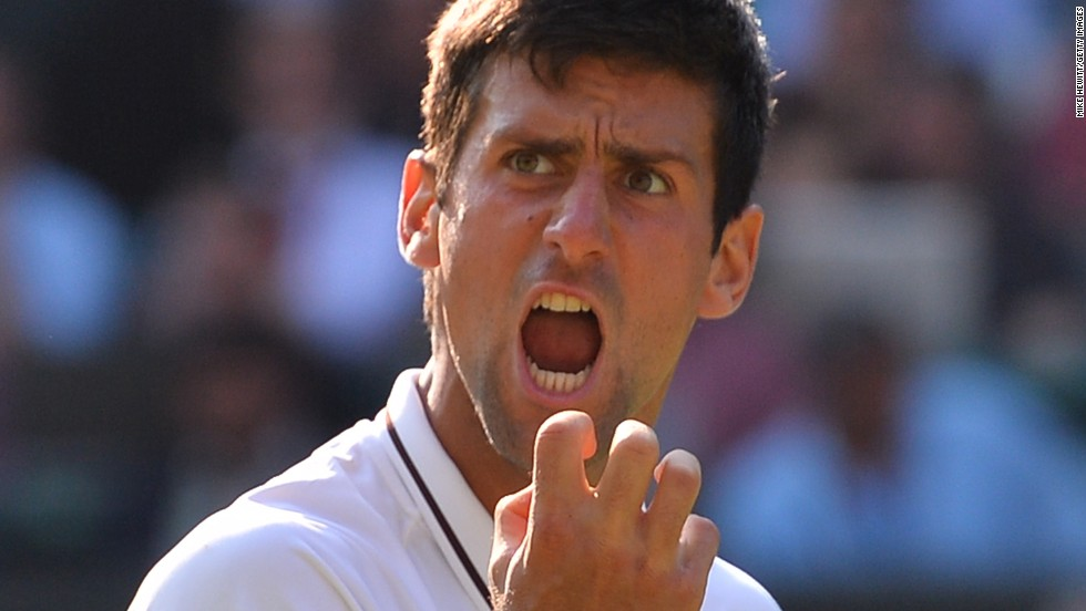 Novak Djokovic had to draw on all his reserves to see off Juan Martin del Potro in a classic semifinal at Wimbledon.