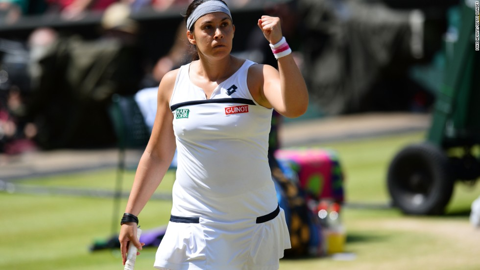 Grass was Bartoli's most successful surface. The 29-year-old didn't drop a set throughout her triumph in 2013, while she also reached the final at the All England Club in 2007.